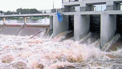 La bravura del río Ctalamochita amenaza a la región