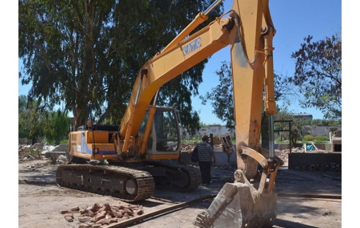Comenzaron las obras para 1.103 viviendas cerca del centro en Mendoza