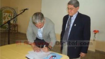 El municipio de Fiambalá firmo convenio con el En.Re. Catamarca