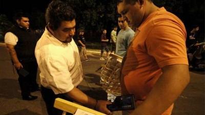 En Santa Fe, la Guardia de Seguridad Institucional incorporó detectores de metales