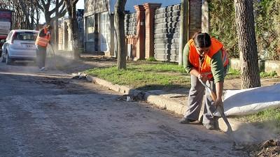 Paro de trabajadoras precarizadas en la Municipalidad de Capitán Bermúdez