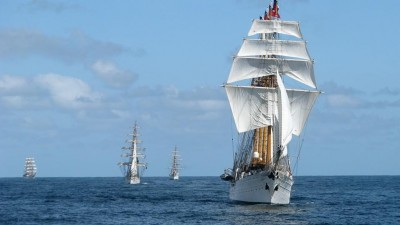 Velas Latinoamérica: Arriban los veleros al puerto de Ushuaia