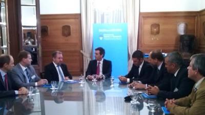 Randazzo recibió al Ministro de Gobierno y varios intendentes de Misiones