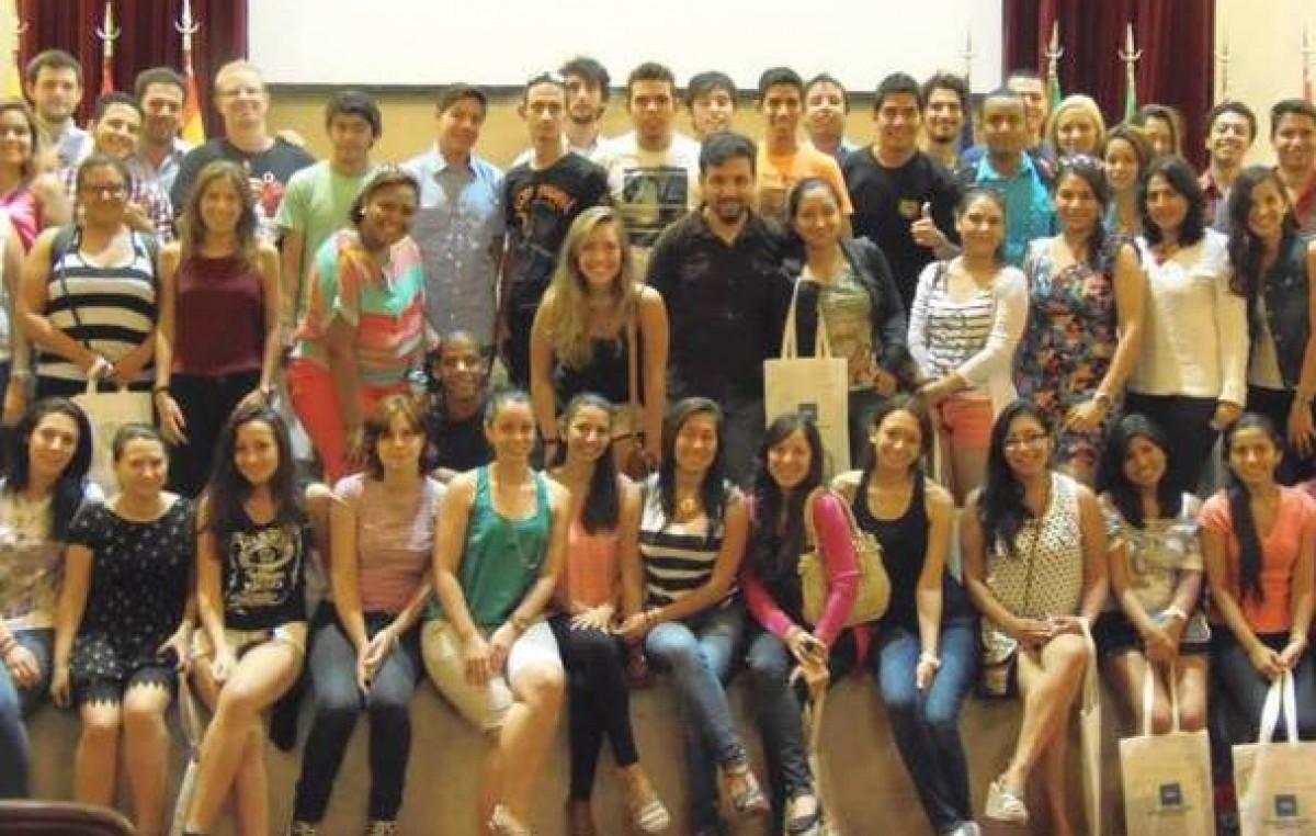 Estudiantes extranjeros eligen Santa Fe por la amabilidad y el paisaje