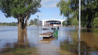 Estiman que la inundación dejará pérdidas millonarias en Villa María