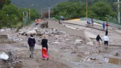 Rodeo: Los puentes estaban mal emplazados y fueron determinantes en la tragedia