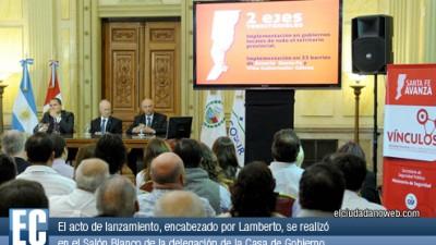 Santa Fe: Relanzan plan para combatir el delito junto a municipios