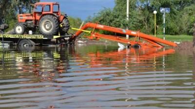El agua también complica a muchos campos del sudeste Cordobés
