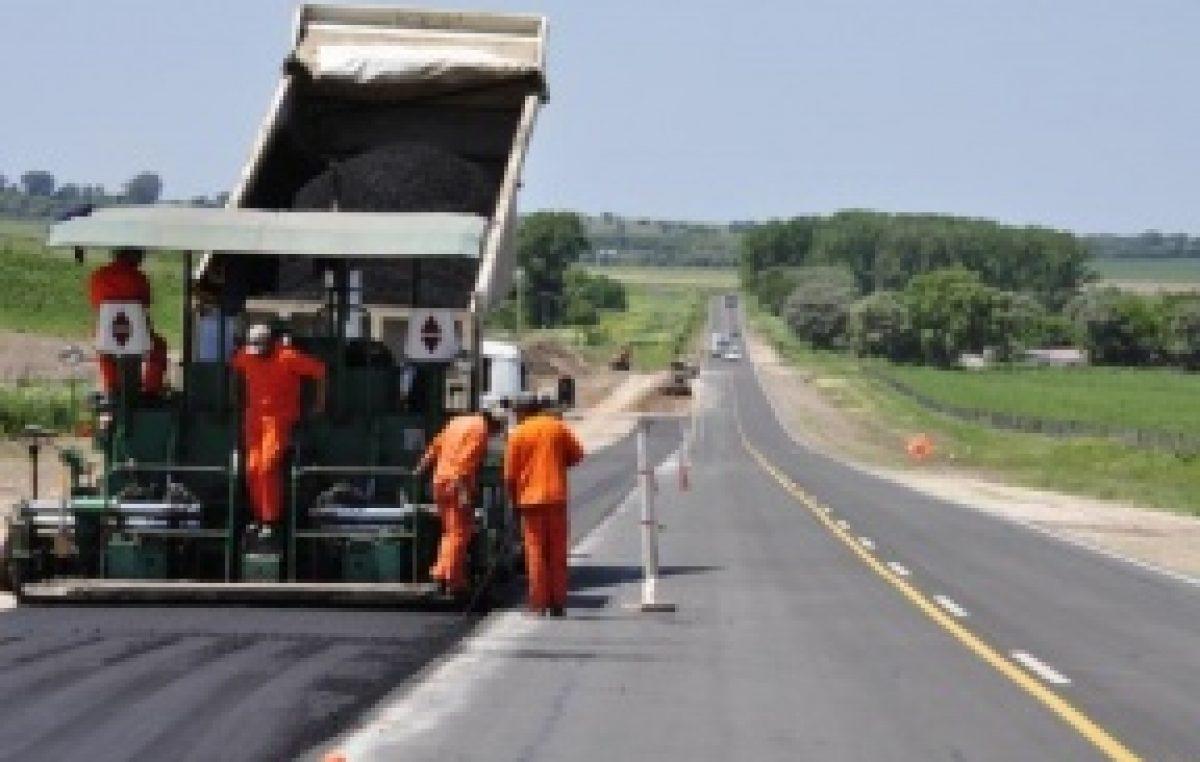 Intendentes Entrerrianos destacan el avance de la obra en la Ruta 11