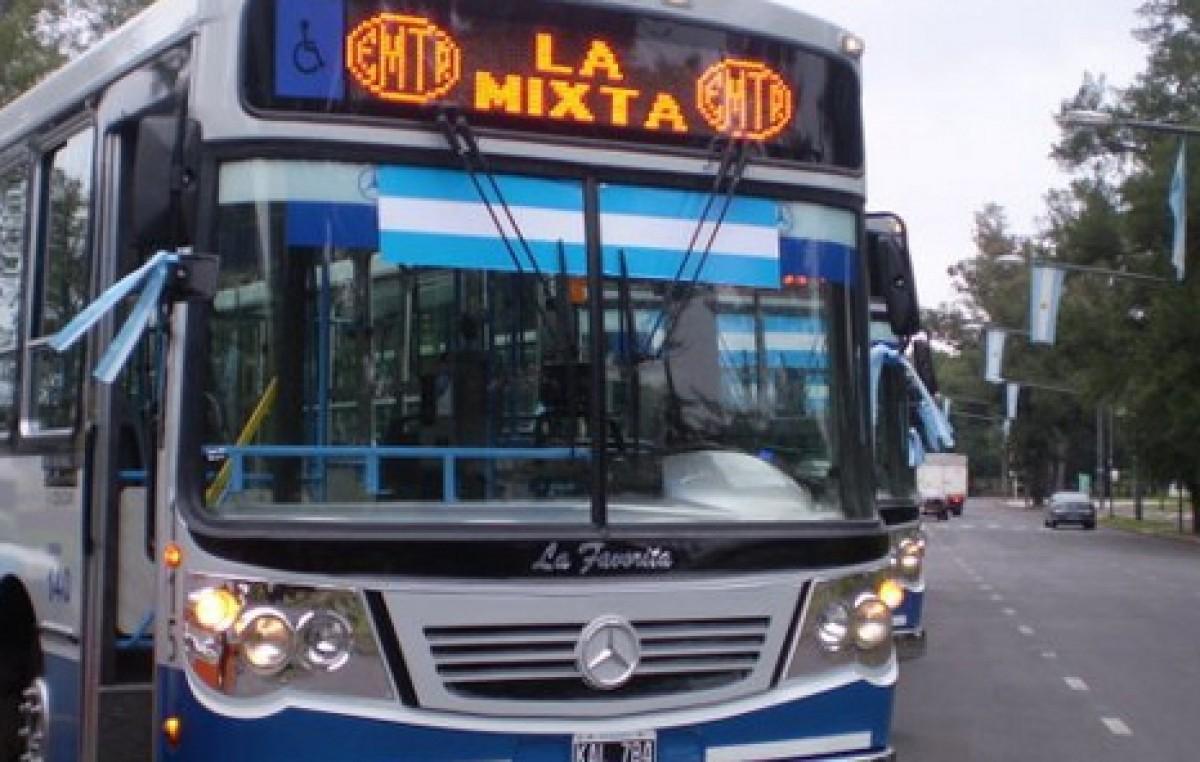 Rosario: Destinan fondos extras del municipio para pagar salarios a los colectiveros