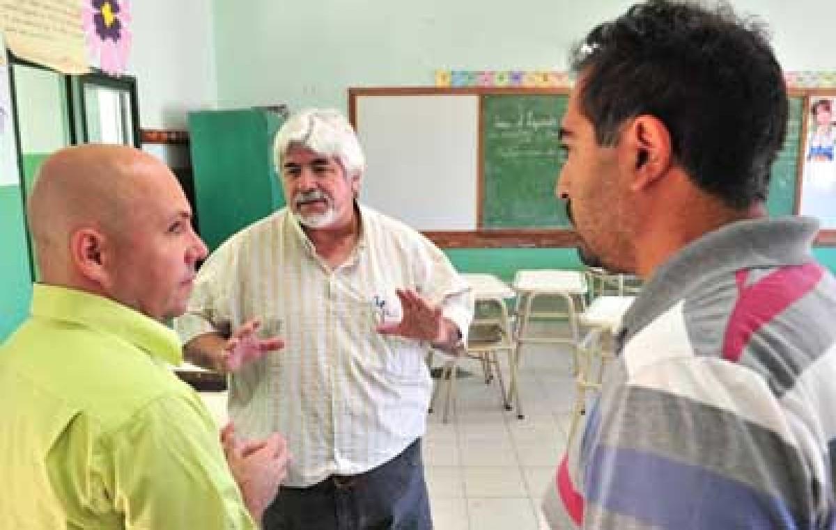 La Escuela Municipal de Puerto Madryn refaccionada con esfuerzo municipal