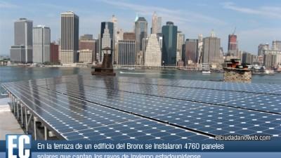 Nueva York se maravilla con la ventaja de la energía solar