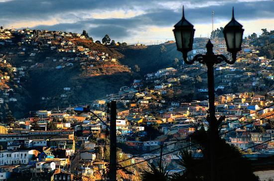 Una imagen de la ciudad de Valparaíso, uno de los destinos turísticos del vecino país