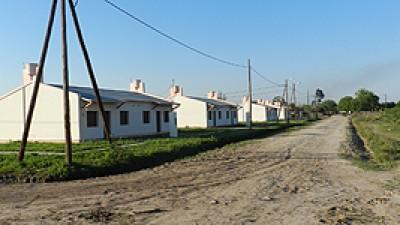 540 viviendas en diferentes localidades de Formosa se encuentran en etapa de terminación