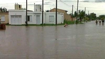 Pérdidas por inundaciones en Las Varillas superarían los 150 millones de pesos