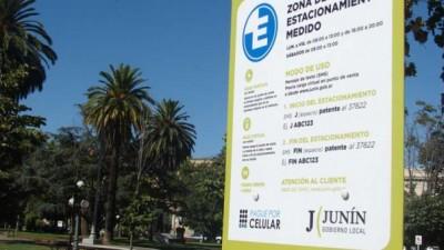 Junín y Mercedes encabezan los estacionamientos medidos más caros de la Provincia