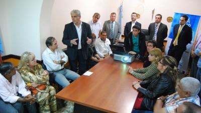 Intendentes de La Rioja articulan acciones con el Ministro de Gobierno