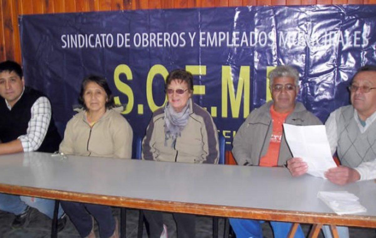 Trabajan en la conformación de un Centro de Jubilados municipales de Esquel