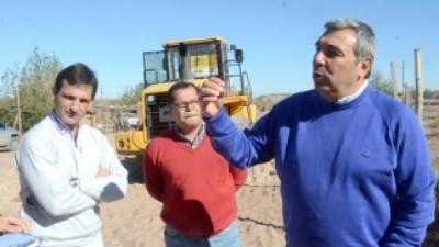 En tres meses estarán las casas para los afectados por el temporal en Neuquén