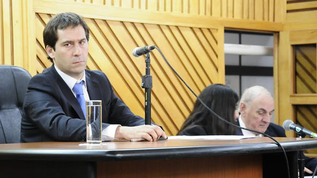 Juan Pablo Luque, presidente del bloque del Frente para la Victoria.