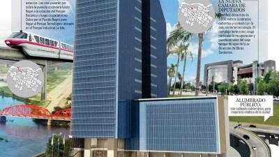 En 2020 la ciudad de Santiago del Estero tendrá edificios más altos, viaductos y amplias avenidas