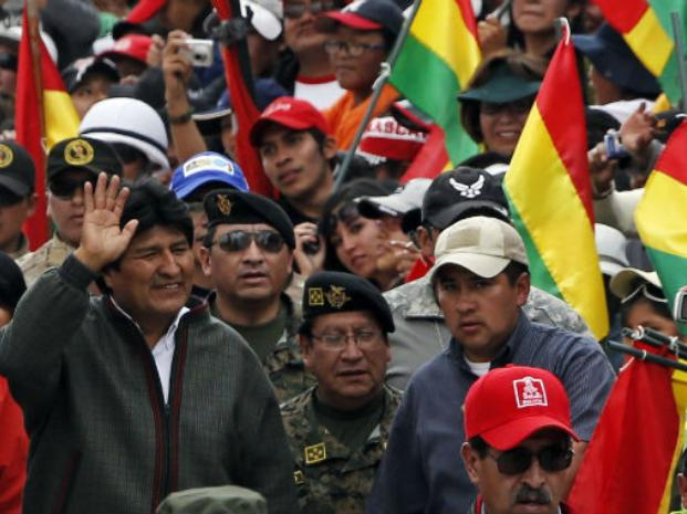 Reelección. El presidente boliviano Evo Morales aspira a pelear por un tercer mandato. Las cifras de la economía le dan rienda a sus aspiraciones.