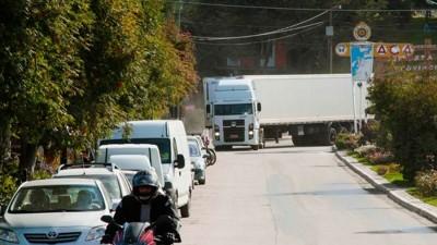 En Villa la Angostura quieren que cada camión pague $ 530 por pasar por la ciudad