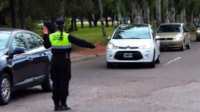 Desde hoy Guaymallén saca sus policías viales a las calles