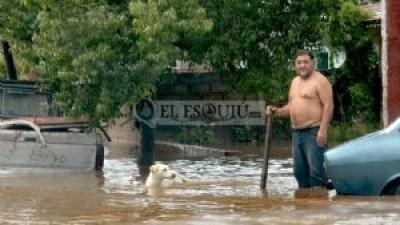 Más de 600 evacuados, daños y pérdidas millonarias por las lluvias en el Este de Catamarca