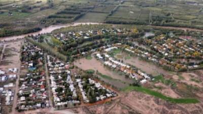 Neuquén: La lluvia causó graves destrozos y todavía hay 1.452 evacuados