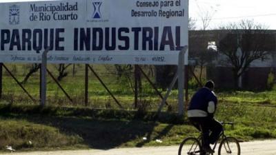 Río Cuarto: Buscan financiamiento para obras en el Parque Industrial por $ 3 millones