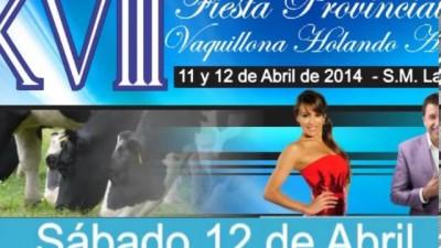 Fiesta de la Vaquillona, 11 y 12 de abril en Saturnino María Laspiur