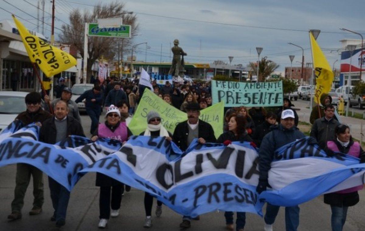 Los municipales de Caleta Olivia paran por 72 hs