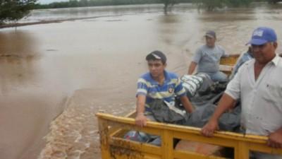 Un temporal dejó aisladas a cerca de 100 familias del sur tucumano