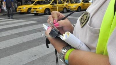 Sigue la protesta de los inspectores de tránsito en Córdoba