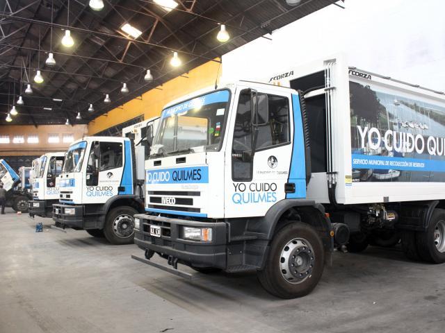 Los camiones que comenzarán a circular a partir de la semana que viene