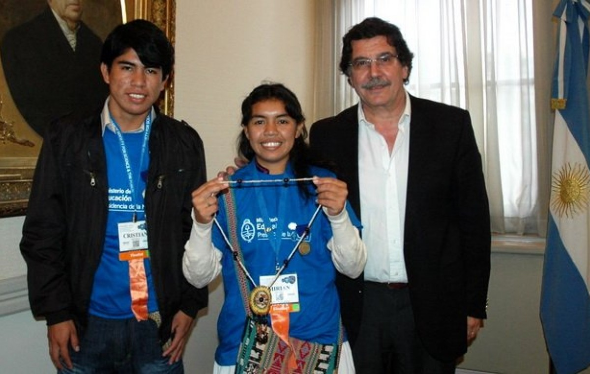 La OEA premió a alumnos wichi en un certamen por mejorar la harina de algarrobo