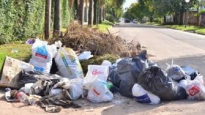 Realizan un operativo de emergencia para la recolección de residuos en Paraná