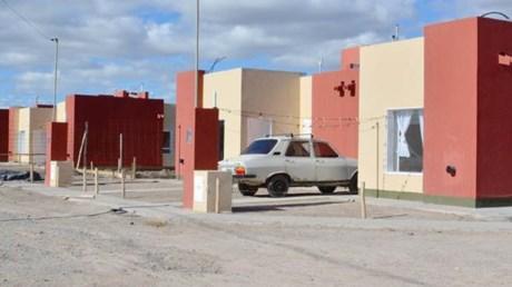 Viviendas sociales. Algunas de las casas construidas por las cooperativas de la autoconstrucción.