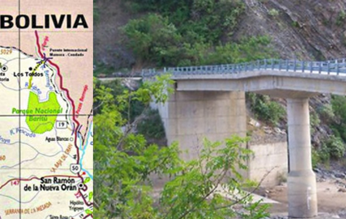 Un corte de ruta en Bolivia aisla a Los Toldos