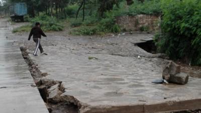 San Pedro quedó bajo el agua