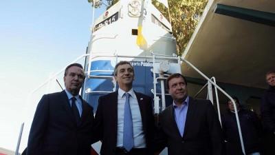 Nación entregó dos nuevas locomotoras para Tren Patagónico