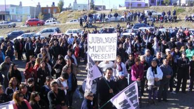 Trabajadores municipales de Caleta Olivia lanzan un paro por tiempo indeterminado