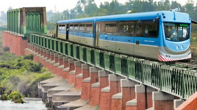 Así se verá el tren del desarrollo que unirá Capital con La Banda