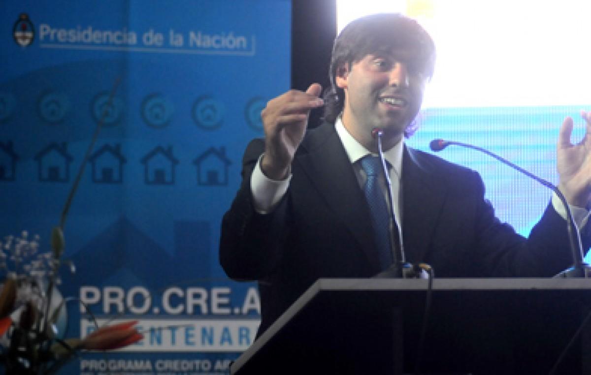 «Mar del Plata es la ciudad récord en los planes Procrear»