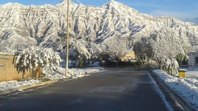 Nieve: Postales de Vinchina