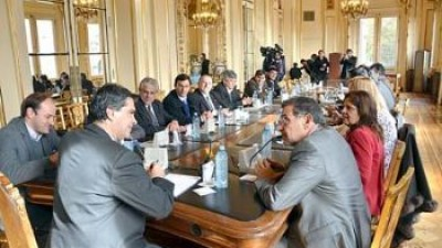 La Nación comprometió apoyo con obras para los municipios Riojanos