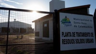 Ambiente supervisó funcionamiento del vertedero regional de residuos de Calamuchita