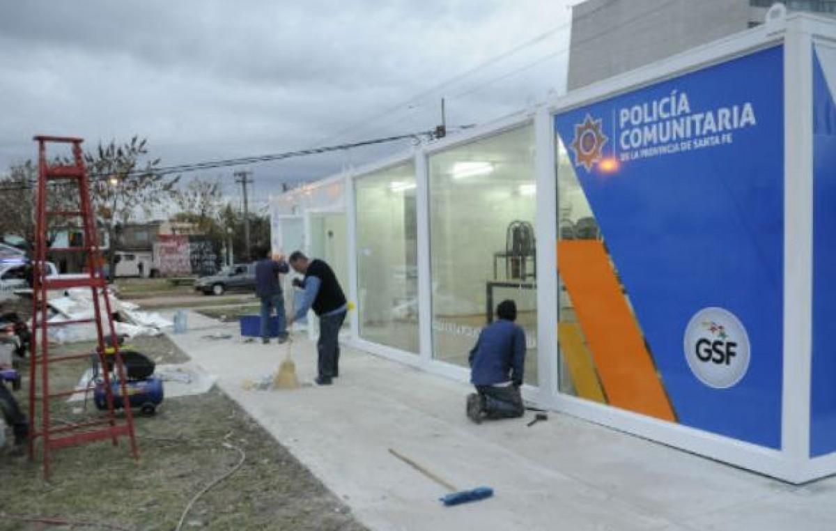 La Policía Comunitaria comienza a patrullar las calles de un barrio de Rosario