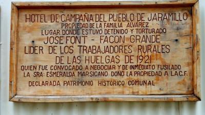 Firman convenio para localizar tumbas colectivas de las huelgas del '21 en Jaramillo y Gregores